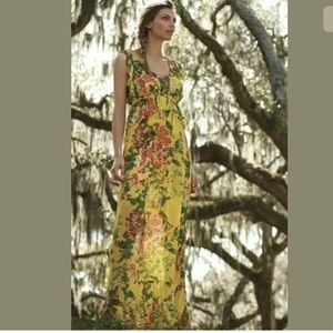 New Anthropologie Tracy Reese Sungrove maxi small